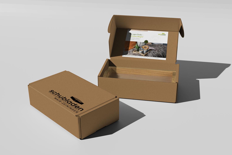 Schubladen Verpackung
