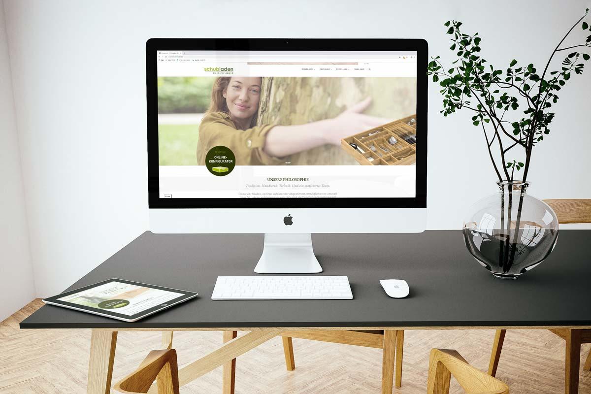 Schubladen Webseite