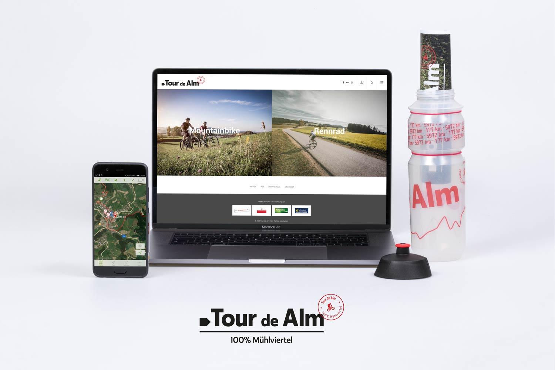 Tour de Alm Webseite