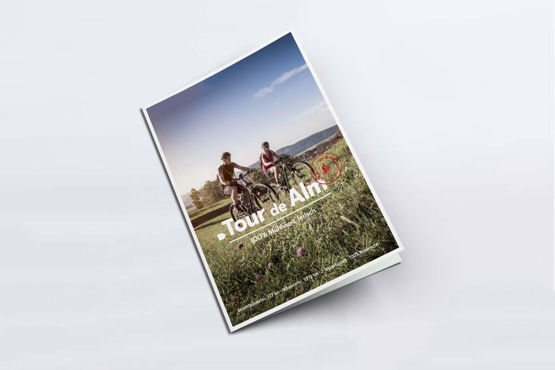 Tour de Alm Folder