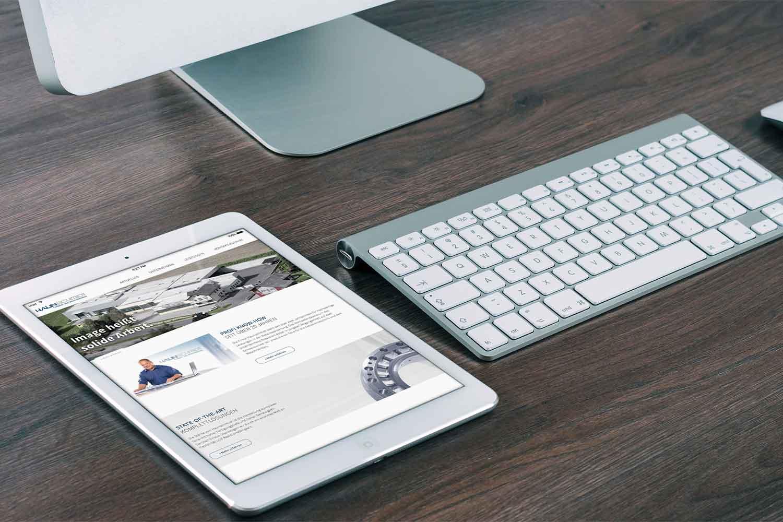 Haunschmidt Webseite Tablet