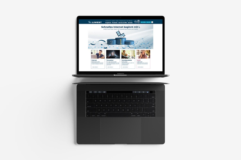 Liwest Webseite