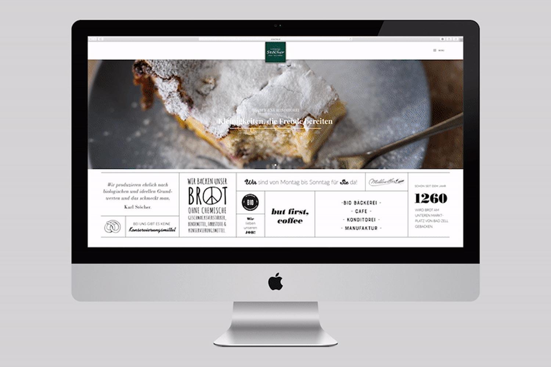 Stöcher Webseite