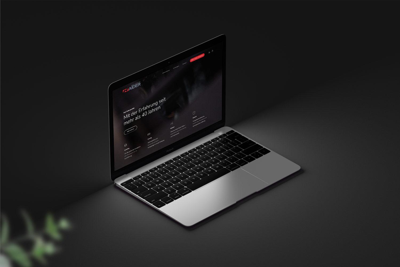 Haider Druckerei Webseite