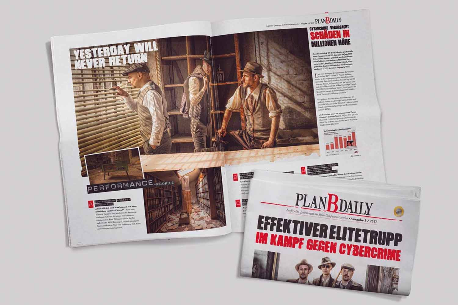 Plan B Newspaper
