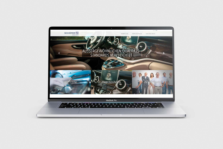 Schöfer Webseite