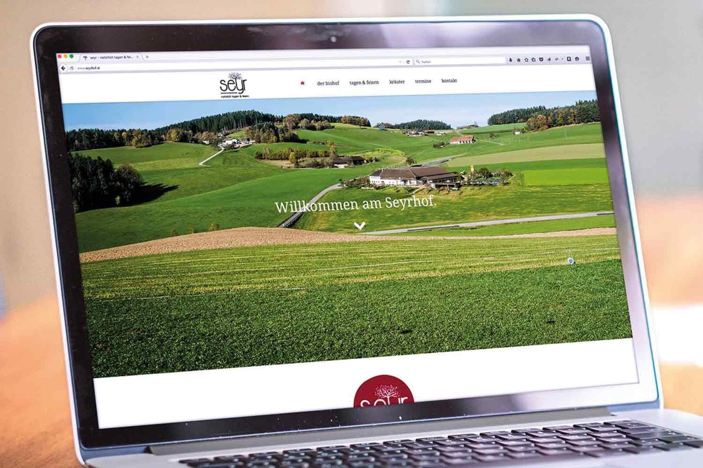 Seyr Webseite