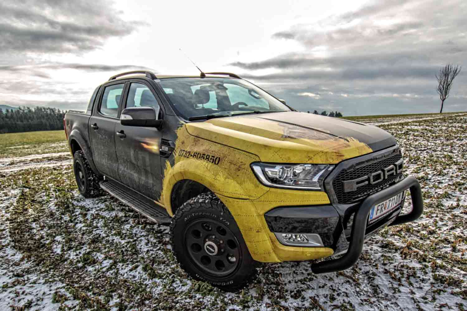 ADhouse Ford Ranger Autobeklebung
