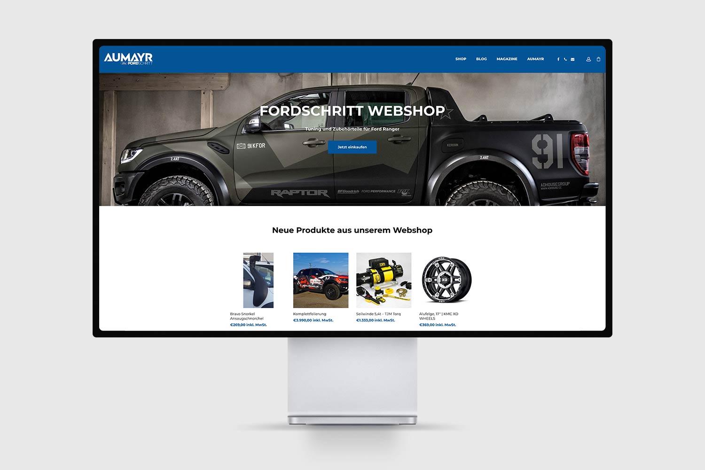 Autohaus Aumayr Fordschritt Shop